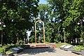 Меморіальний комплекс. Могила М. Я. Ревуцького, Пам'ятний знак на честь воїнів-земляків, Братська могила радянських воїнів.jpg