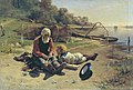 Николай Алексеевич Богатов Рыбак с мальчиком 1889.jpg