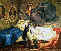 Сон бабусі і внучки