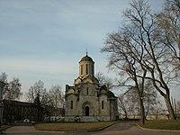 Спасский собор Андроникова монастыря, южная стена.JPG