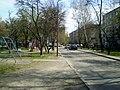 У двары дома №116 па вул. Кірава - panoramio.jpg