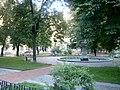 Фонтан Київського водогону біля театру І.Франка.JPG