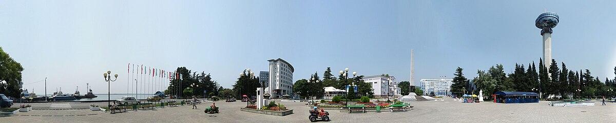 Центральная площадь Туапсе