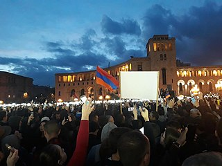 2018 in Armenia Armenia-related events during the year of 2018