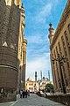 مسجد محمد علي بالقلعة وساحة مسجدي السلطان حسن والرفاعي.jpg