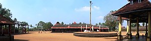 Chengannur Mahadeva Temple - A view of the temple premises
