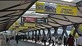 京都競馬場のステーションゲート2階の周辺風景(2015年10月25日).JPG