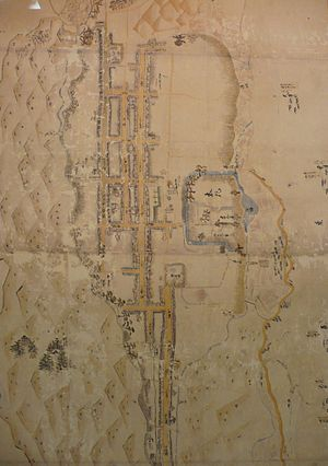 Itami Castle - Map of Itami Castle.