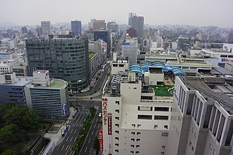 Cities designated by government ordinance of Japan - Image: 廣島市區 Downtown Hiroshima panoramio