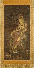 수월관음도 고려-水月觀音圖 高麗-Water-moon Avalokiteshvara