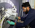- Anand Parejiya works with the Roll-to-Roll Manufacturing Group at the NTRC (49712421131).jpg