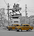 .Netaji statue, Shyambazar 5 point crossing.jpg