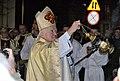 02018 0022(1) Adam Szal, Die Enthüllung und Segnung der neuen Statue des Erzengels Michael zu Sanok.jpg