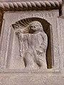 024.Broto - San Juan en el pórtico de la iglesia.JPG