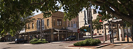 downtown Dodge City