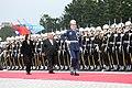 03.07 總統與諾魯共和國總統瓦卡(Baron Divavesi Waqa)一同檢閱三軍儀隊 (33169506661).jpg