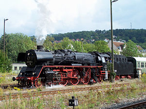 DRG Class 03 - 03 1010 in Meiningen