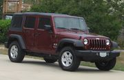 2007 Jeep Wrangler Unlimited X soft top