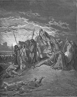 Ahab - Death of Ahab, by Gustave Doré