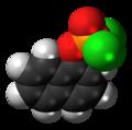 1-Naphthyl dichlorophosphate molecule spacefill.png