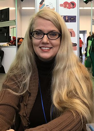 Colleen Doran - Doran at the 2016 New York Comic Con