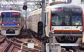 rapid transit system in Tokyo