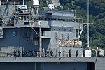 110622-N-SF508-027 Blue Ridge Crew Mans the Rails departing Yokosuka.jpg