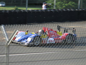 Soheil Ayari - Ayari driving the Oreca 01 during the 2009 24 Hours of Le Mans.