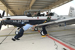 12th Flying Training Wing - 12th Flying Training Wing Raytheon T-6A Texan II 06-3830