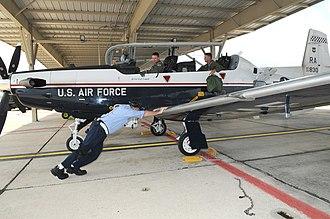 12th Flying Training Wing - 12th Flying Training Wing Raytheon T-6A Texan II 06-3830
