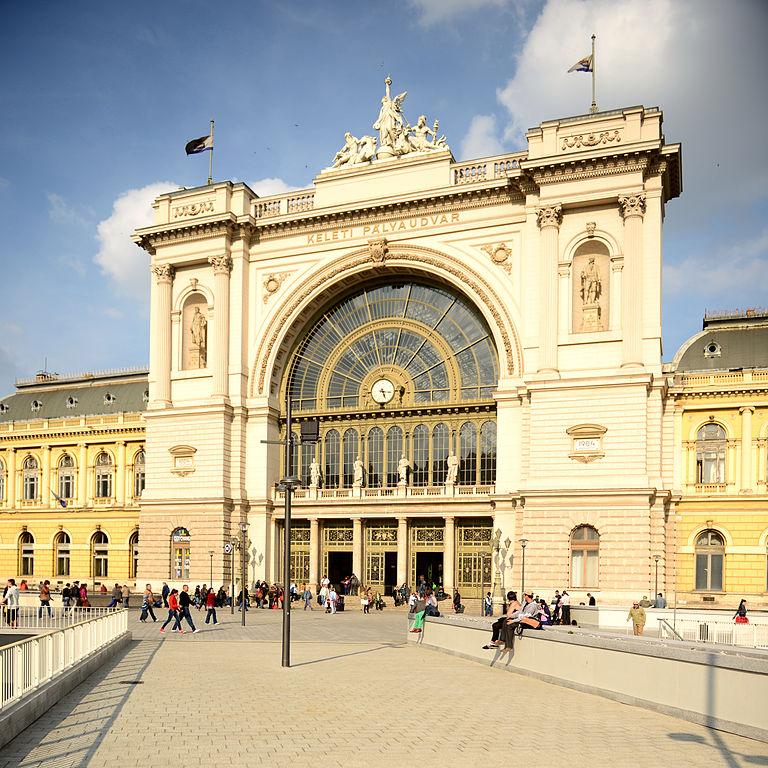 Gare de Budapest Keleti © Photo de Ralf Roletschek