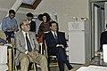 14 Novembre 1991 le président de l'UNESCO à l'INRA de Versailles-5-cliche Jean Weber.jpg