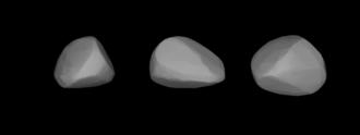 166 Rhodope - Lightcurve-based 3-D model of Rhodope