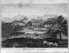 1793 Eden vale in Waltham J. Edes del S. Hill sculp Massachusetts Magazine LC