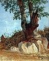 1822 Reinhold Ein Baum in der Campagna anagoria.JPG