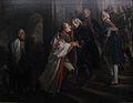 1857 Menzel Begegnung Friedrichs II. mit Kaiser Joseph II. in Neiße im Jahre 1769 anagoria.JPG