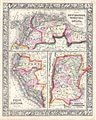 1864 Mitchell Map of Peru, Equador (Ecuador), Argentina, Columbia and Venezuela - Geographicus - SouthAmericaNorth-mitchell-1864.jpg