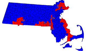 Massachusetts Senate - Composition by municipality in the 189th and 190th General Court.