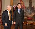 19.05.10 Macri recibe al nuevo embajador de Chile Miguel Otero Lathrop.jpg