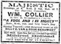 1903 Majestic theatre BostonEveningTranscript December31.png