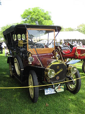 Locomobile Company of America - 1907 Locomobile Type E Touring