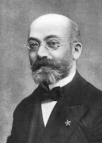 Ludwik Lejzer Zamenhof en 1908.