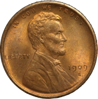 Key date - A 1909-S VDB Lincoln Cent