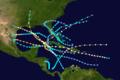 1909 Atlantic hurricane season summary map.png