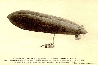 Astra-Torres airship - Astra-Torres AT-1 at an air show in 1911