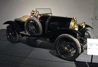 Bugatti Type 18 - Black Bess