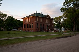 National Register of Historic Places listings in Cass County, North Dakota - Image: 1916 Buffalo High School 1