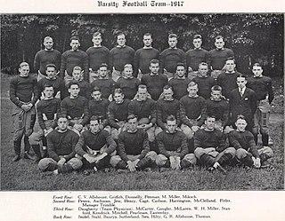 1917 Pittsburgh Panthers football team American college football season