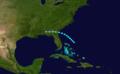 1919 Atlantic tropical storm 4 track.png