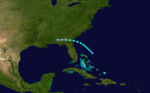 1919 Atlantic tropical storm 4 track.png